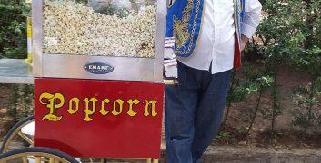 Popcorn Arabası Kiralama  Patlamış mısır arabası